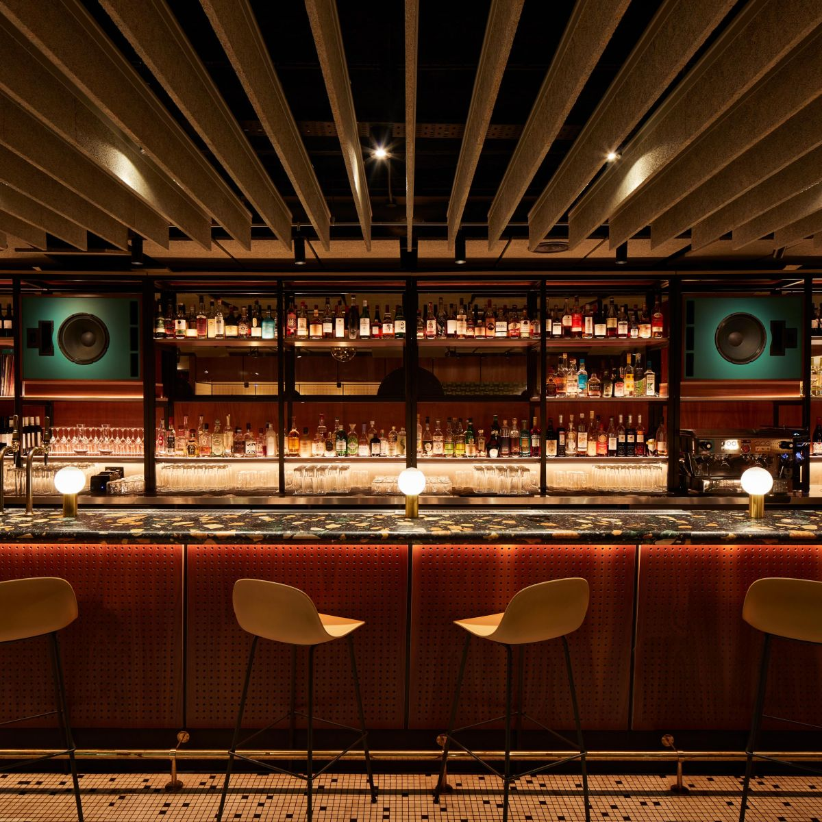 Spiritland Royal Festival Hall, South Bank, Designed by Woulfe