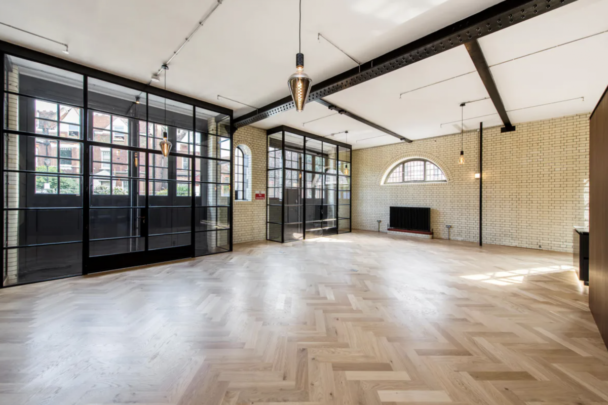 Belsize Park Firehouse properties for sale.