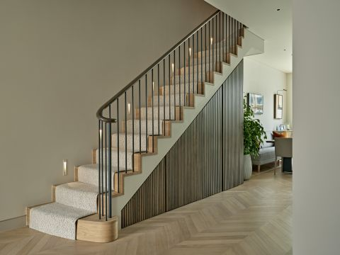 Bespoke handrails and staircases by Anthony Clemens