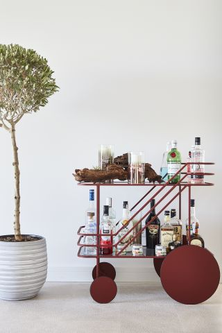 Come As You Are bar cart by Christophe de la Fontaine from Dante.